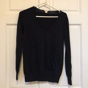 J Crew v-neck sweater